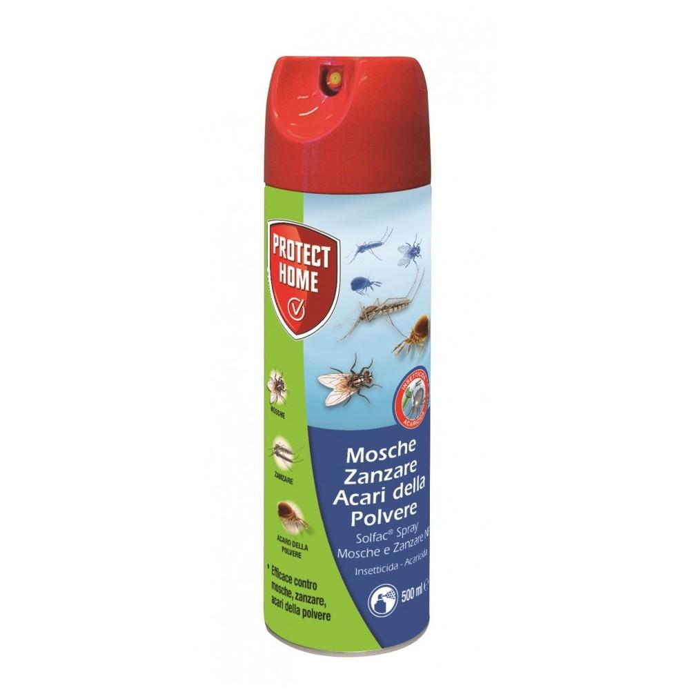 Solfac Spray Mosche e Zanzare Aerosol 500ml