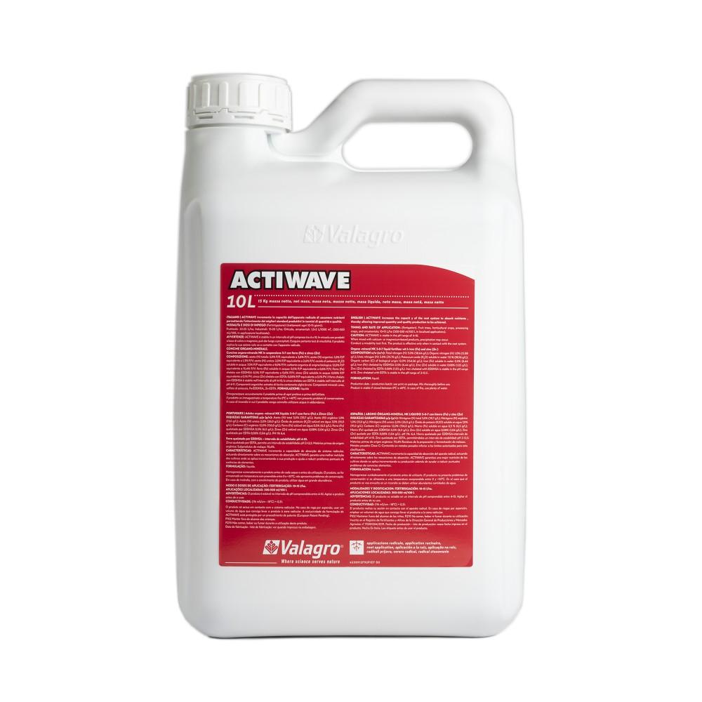 Actiwave Valagro Concime Biostimolante Azoto Carbonio con microelementi10L