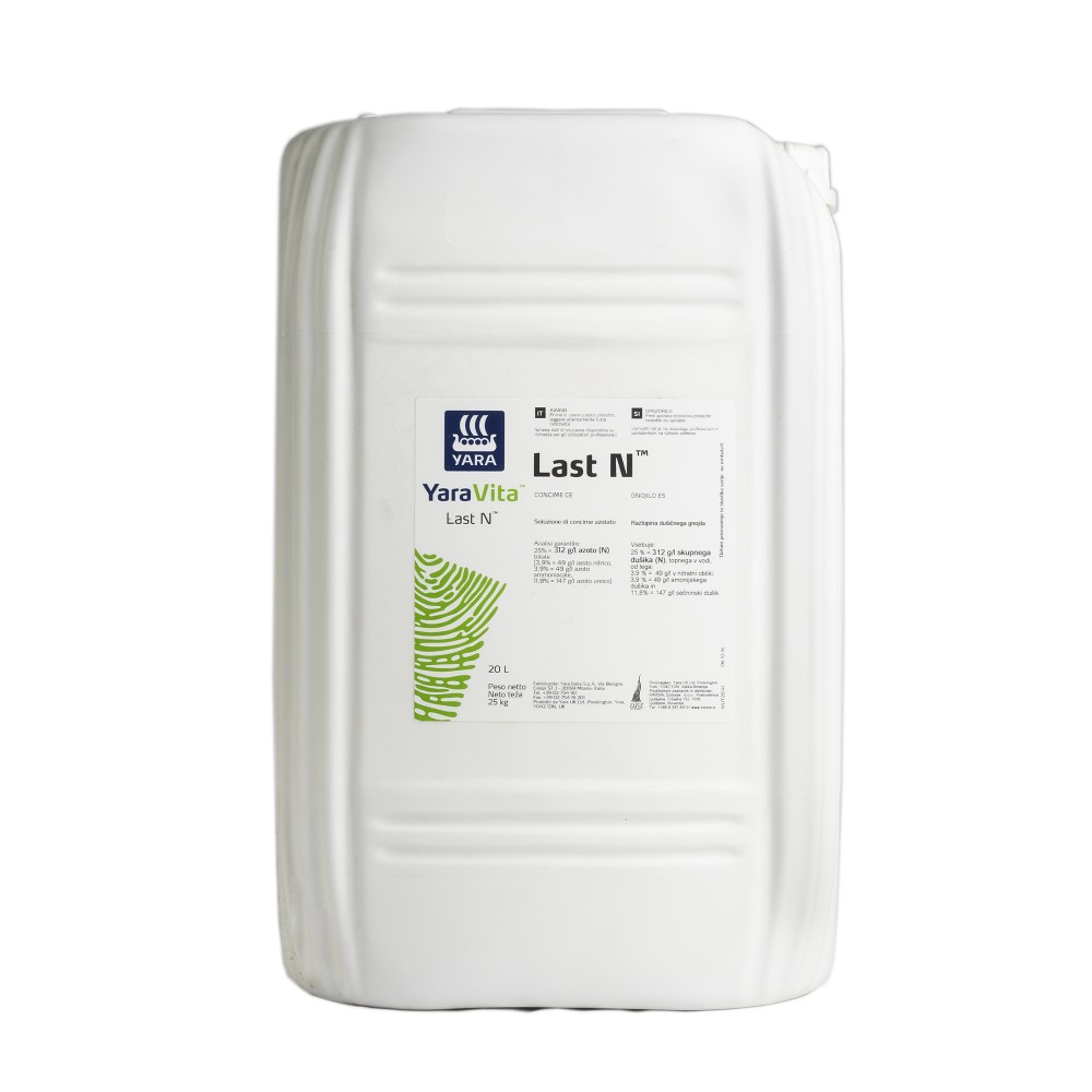 Last N Yara Concime Liquido Azoto 25% 20L