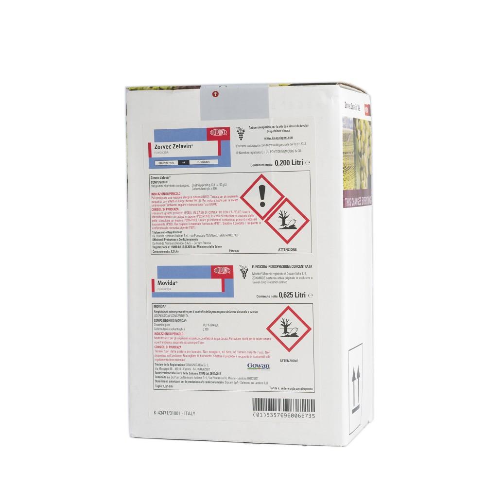 Zorvec Zelavin Vel DuPont Fungicida Peronospora vite 0,825L