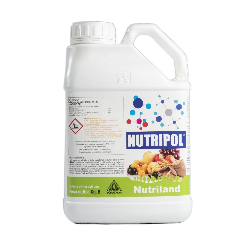 Nutripol Nutriland Concime NP 10.20 + Rame 6 Kg
