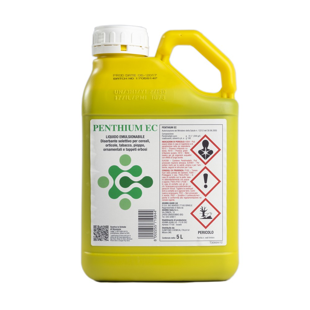 Penthium EC Sumitomo Diserbante Pendimetalin (Stomp Aqua) 5L