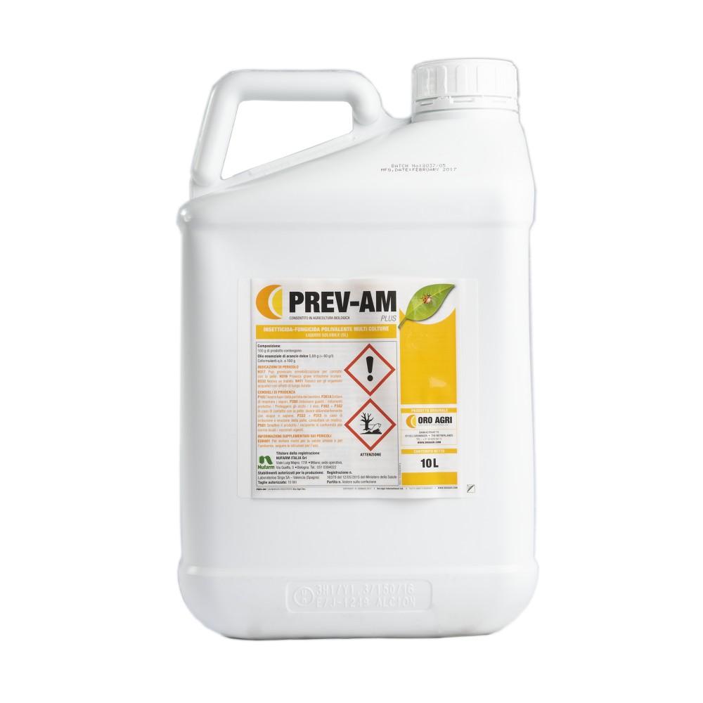 Prev AM Plus Insetticida Fungicida Biologico 10L