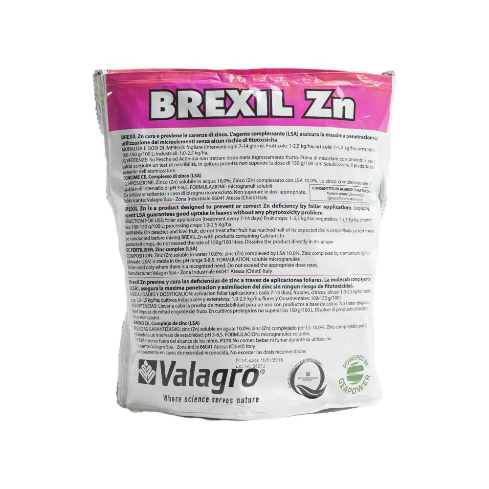 Brexil Zn Valagro Concime Biologico Zinco 1Kg