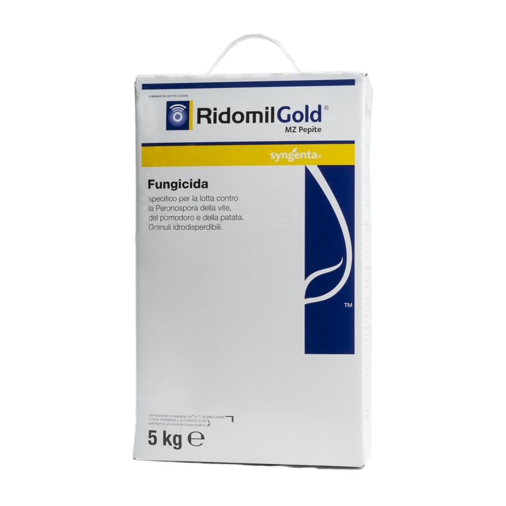 Ridomil Gold MZ Pepite Syngenta Fungicida Metalaxil e Mancozeb 5Kg
