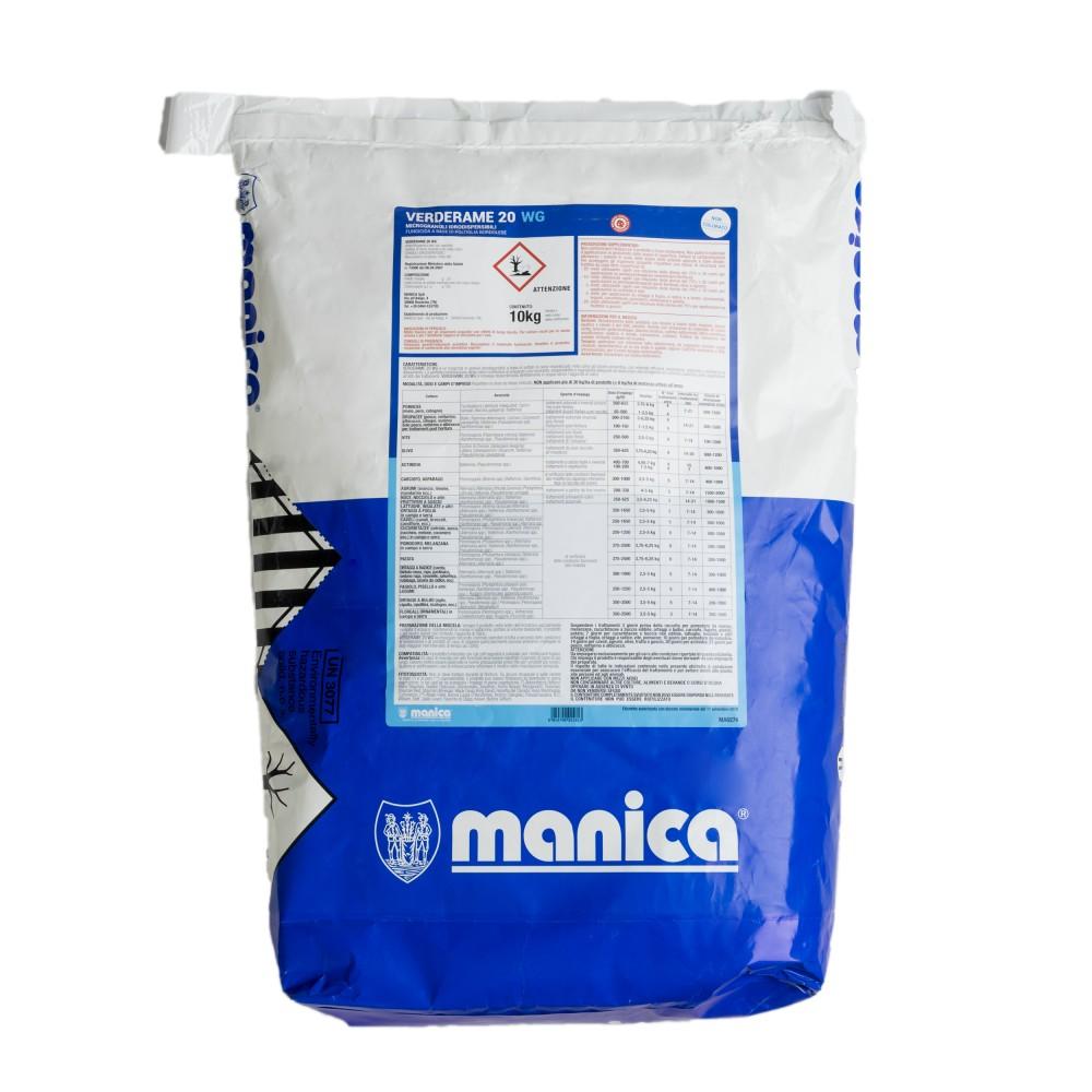 Verderame 20 WG Manica Fungicida Poltiglia Bordolese 10 Kg
