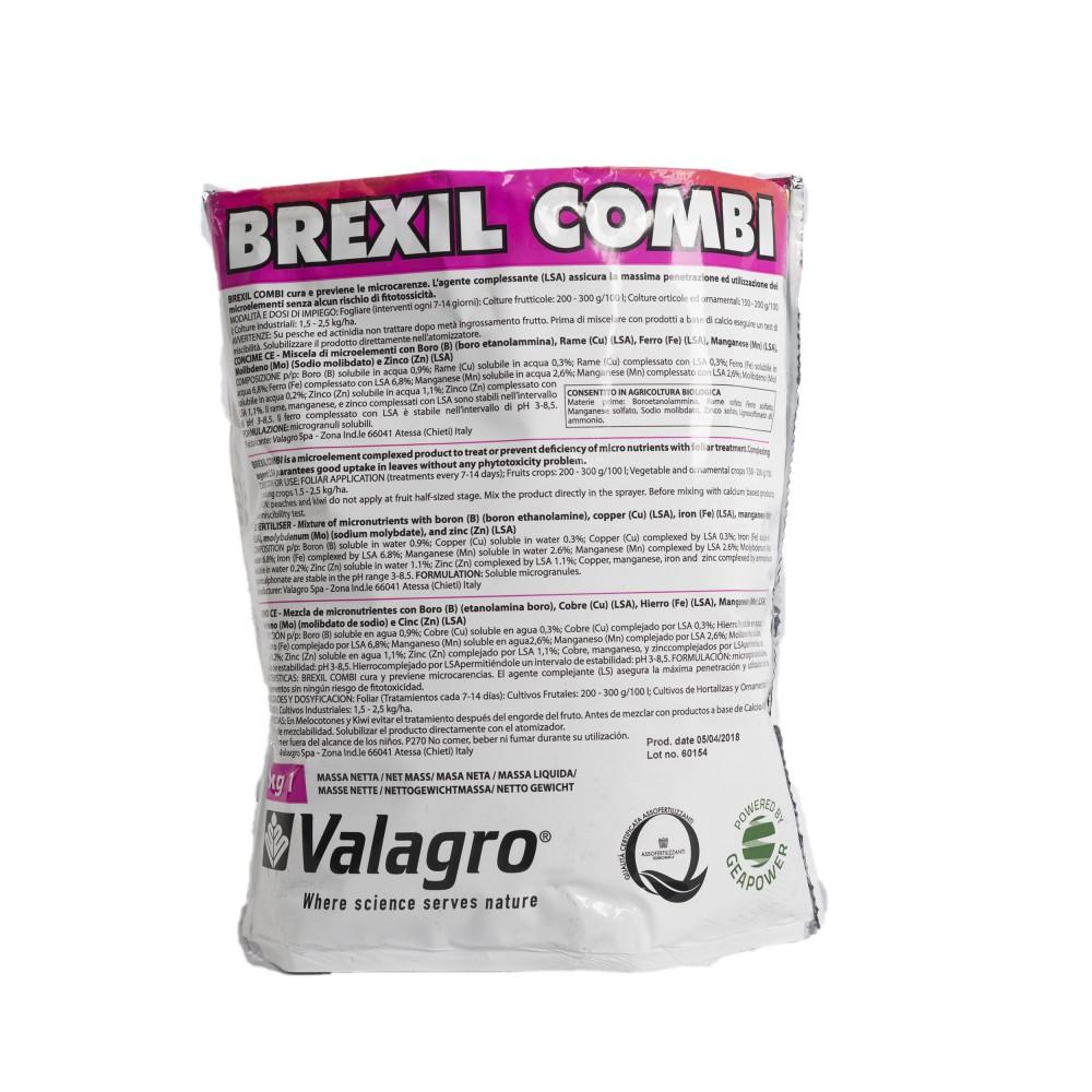 Brexil Combi Valagro Concime microelementi fogliare 1Kg