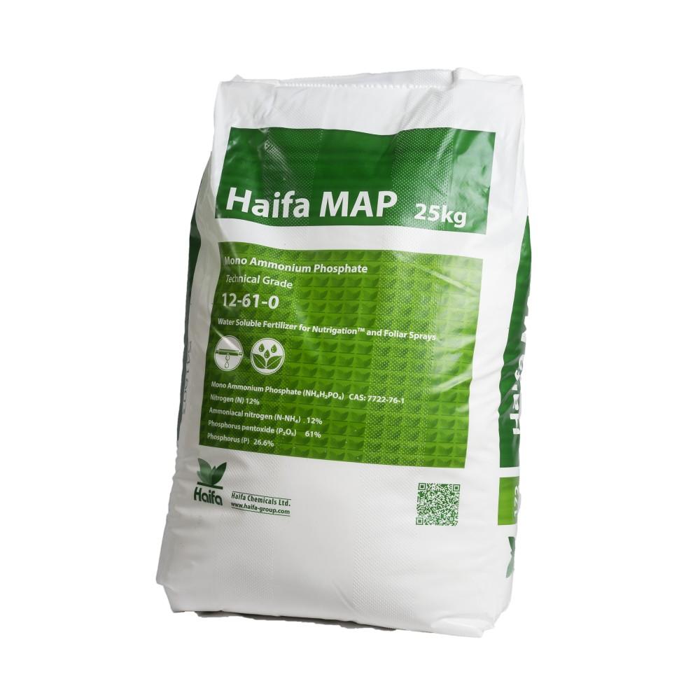 Haifa MAP Concime 12.61 Fosfato Monoammonico 25Kg