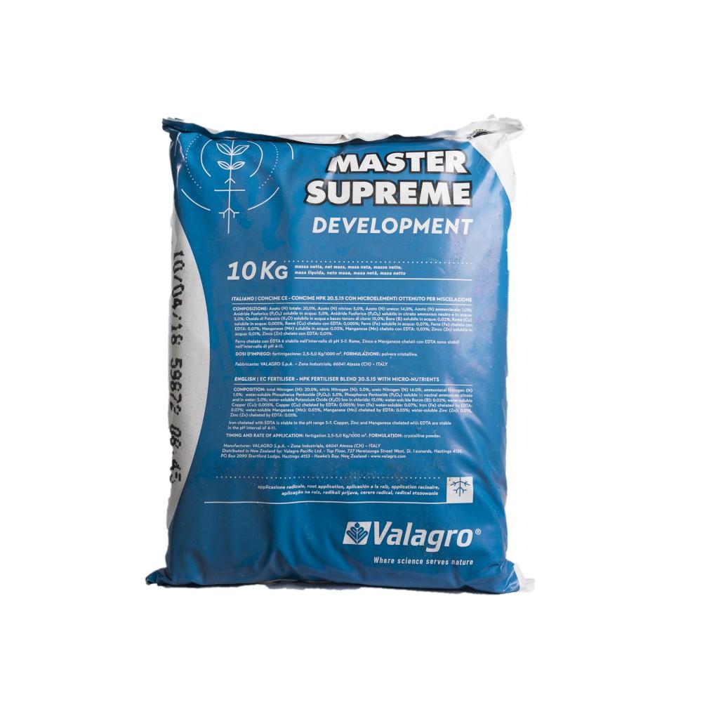 Master Supreme Development Valagro Concime 20-5-15 10Kg