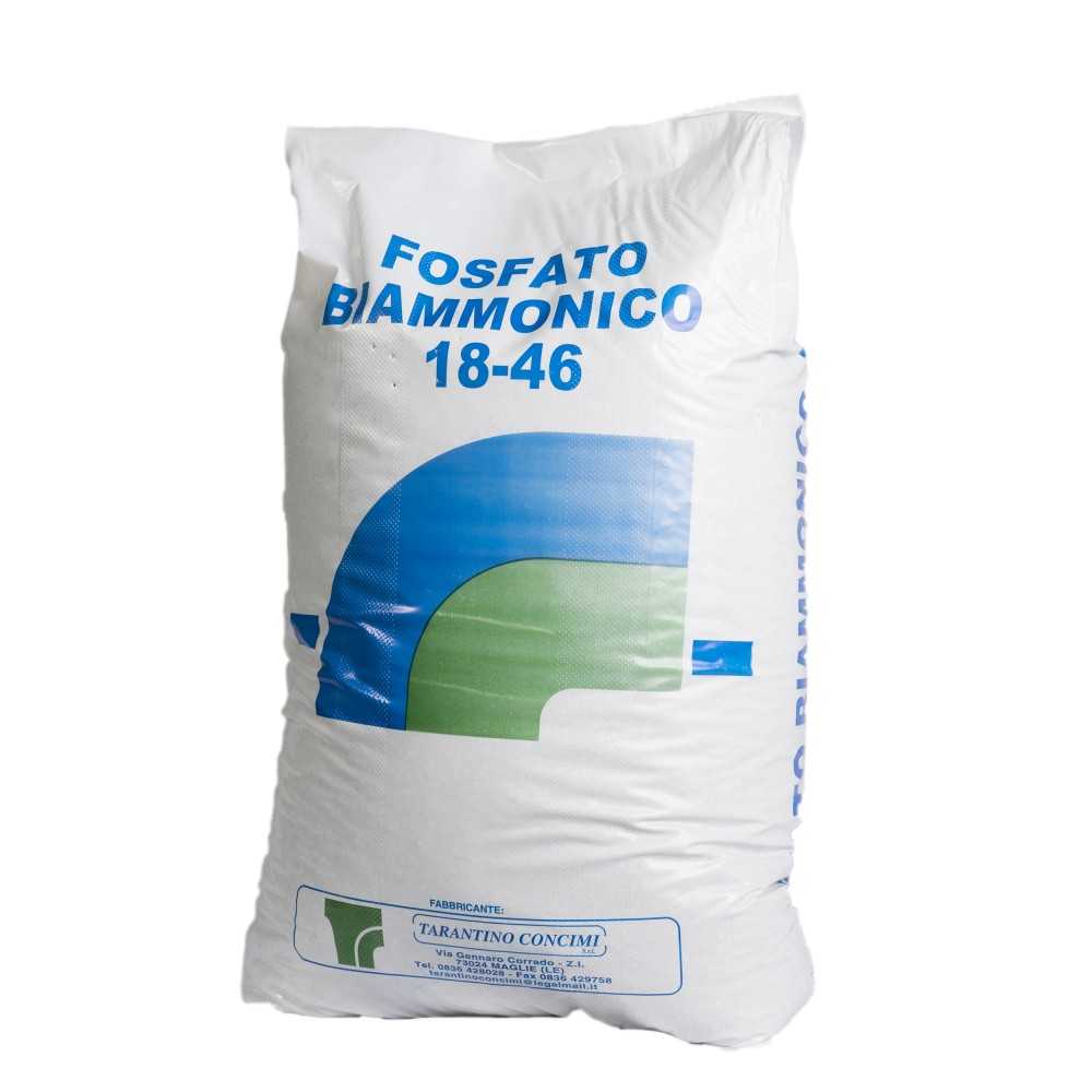 Fosfato biammonico 18.46 Azoto e Fosforo 50kg