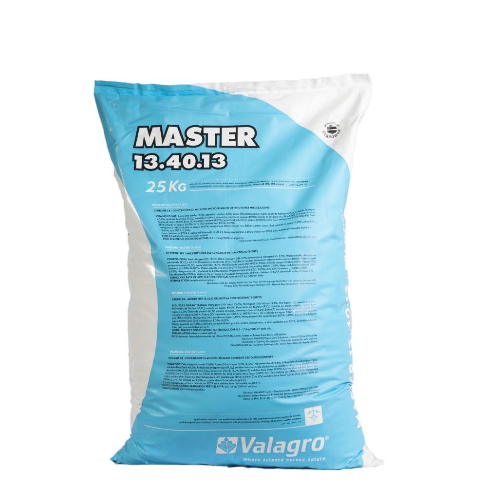 Master 13.40.13 Valagro Concime Fertirrigante NPK 25Kg