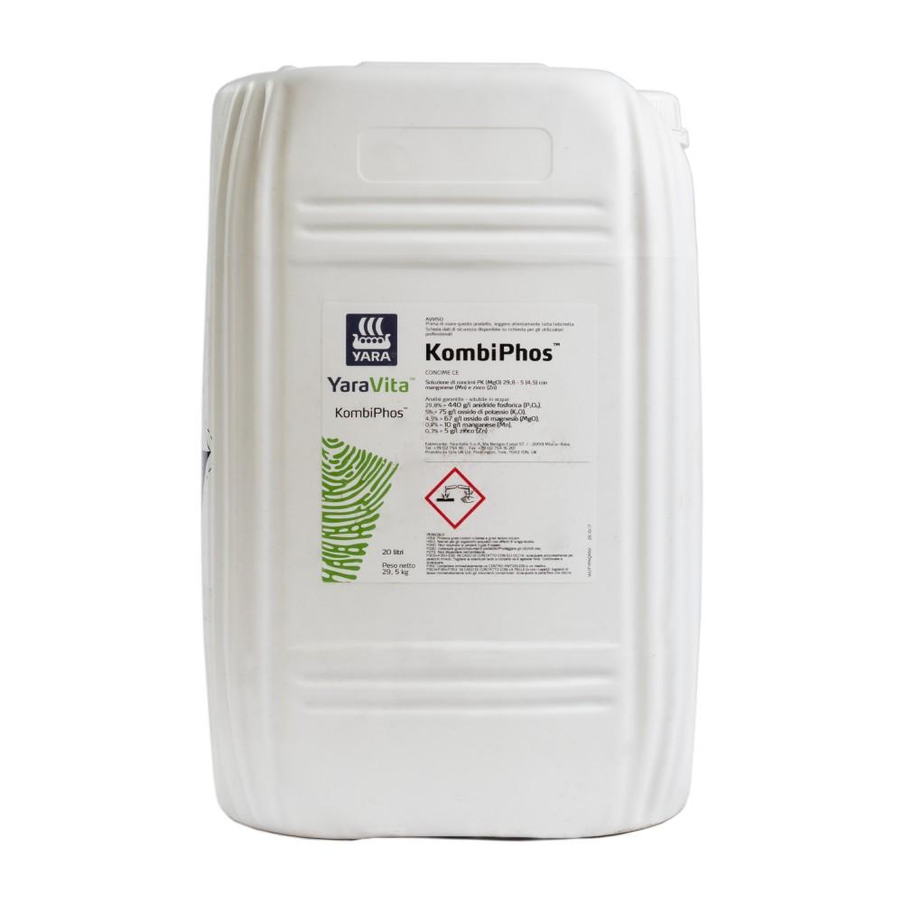Kombiphos Yara Concime Fosforo Potassio e microelementi 20L
