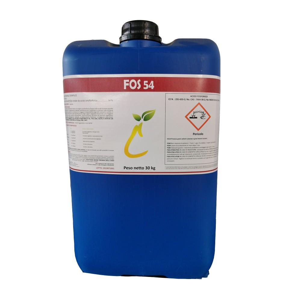 Fosforo 54 Caprara Concime Acido fosforico 30Kg
