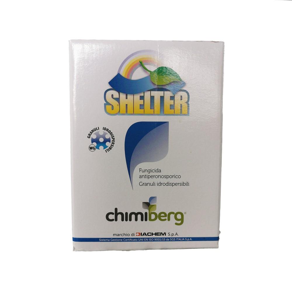 Shelter Chimiberg Fungicida Peronospora Cimoxanil 500g