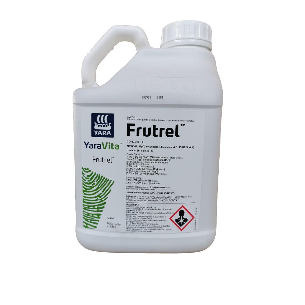 Frutrel Yara Vita Concime fioritura NP con Boro e Zinco 5L