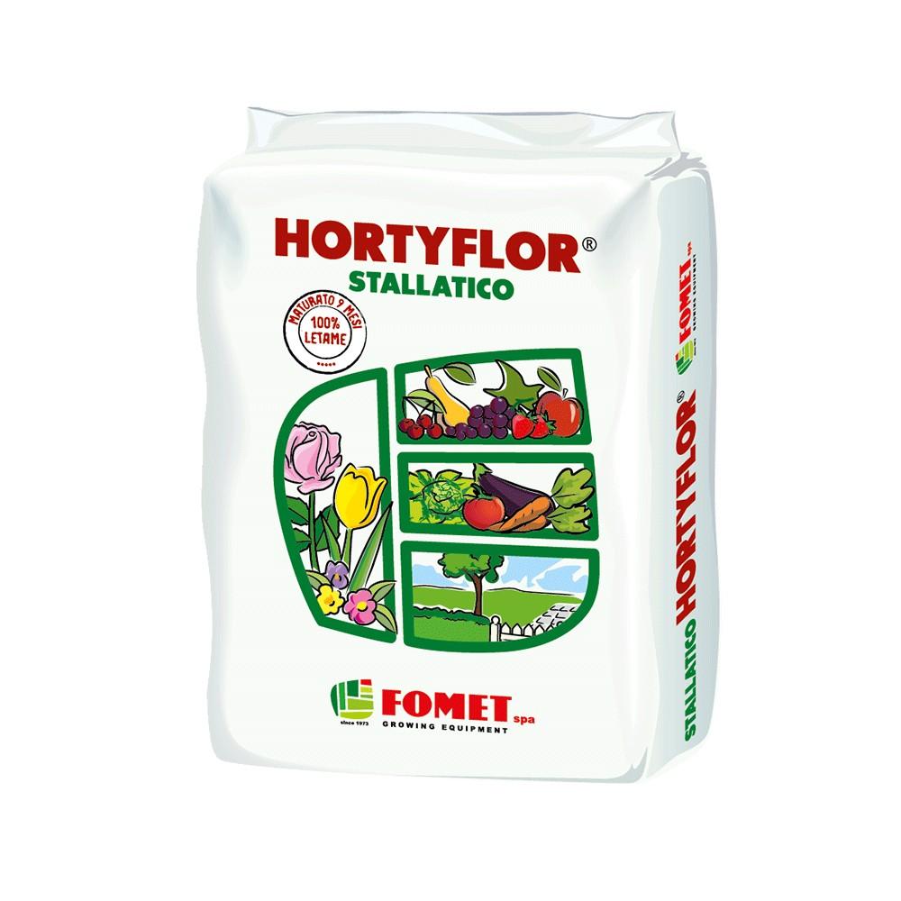 Hortyflor Concime Organico Pellettato Stallatico 5Kg