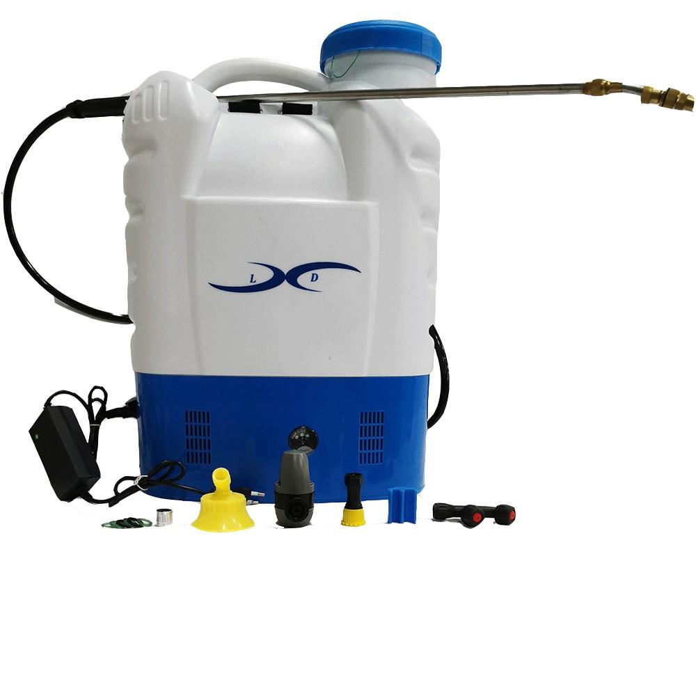 Lamberti Pompa a zaino elettrica a batteria 16 litri