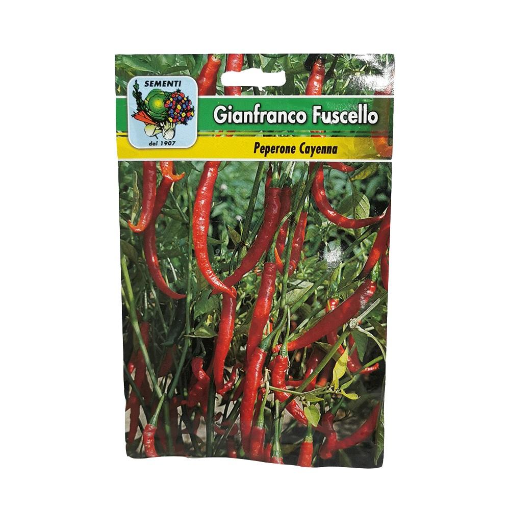 Semi da orto Peperone Cayenna 20gr