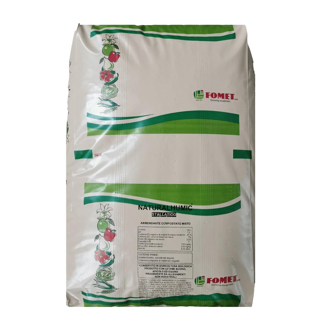 Natural Humic Concime Organico Pellettato Biologico 25kg