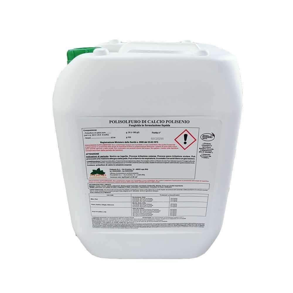 Polisolfuro di Calcio Polisenio Fungicida Biologico 25kg