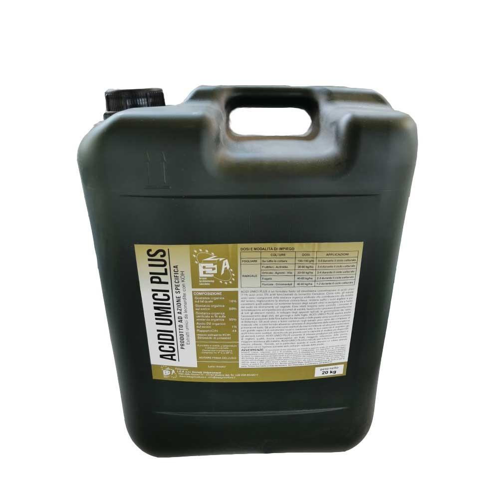 Acidi Umici Plus Concime estratti umici da Leonardite 20Kg