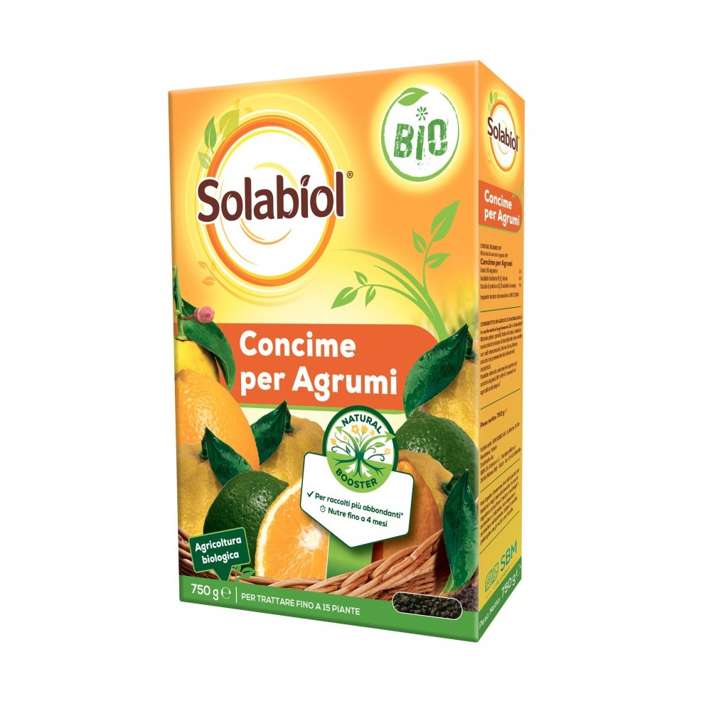 Concime biologico per agrumi Solabiol 750gr