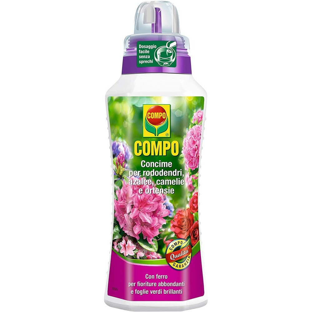 Compo Concime per Azalee Rododentri Camelie e Piante Acidofile 1L