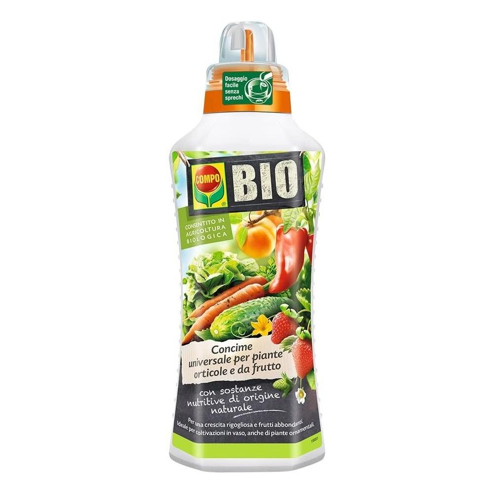 Compo Bio Concime Biologico Per Piante da Orto e da Frutto 1L