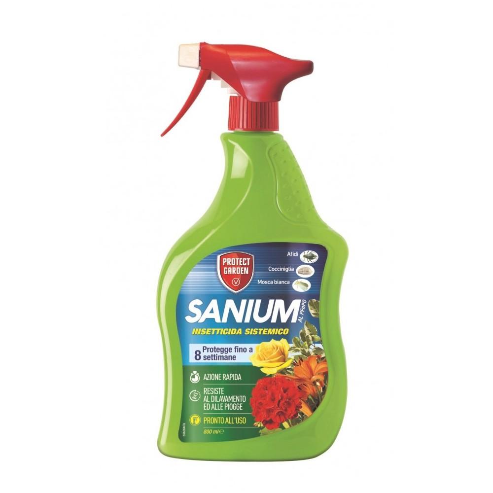 Sanium Insetticida pronto uso Cocciniglia Afidi Mosca bianca 800ml