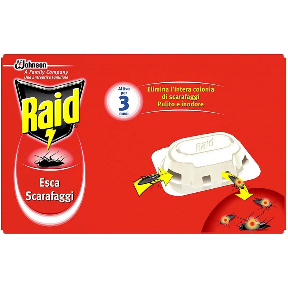 Raid esca scarafaggi - confezione da 6 pezzi