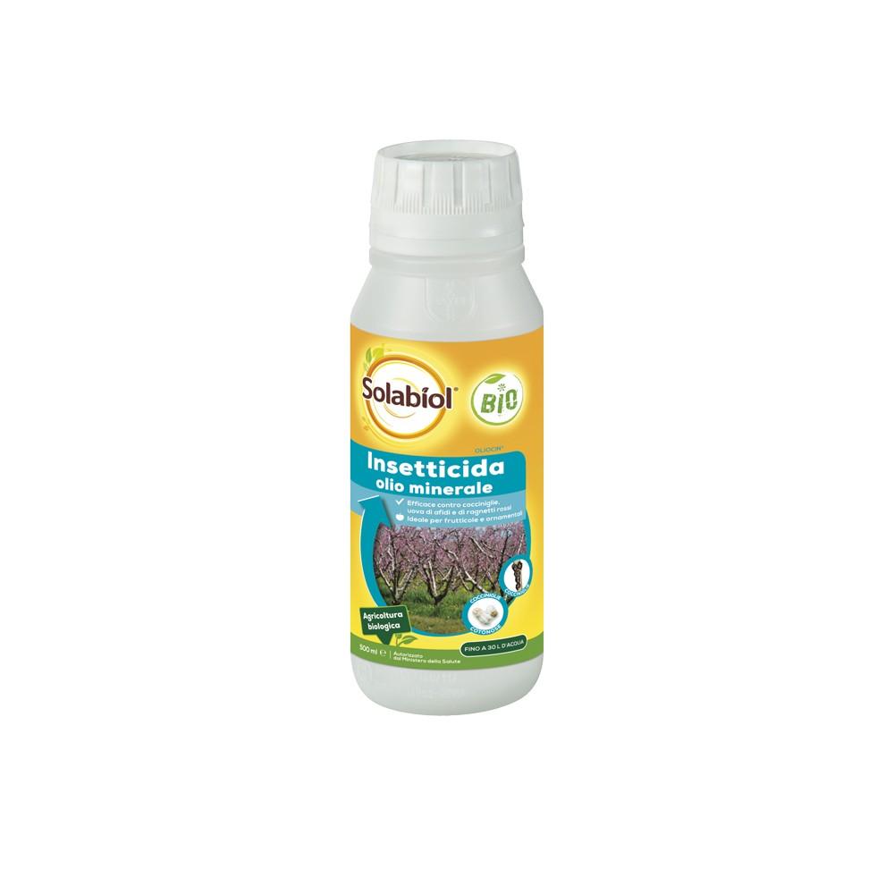 Oliocin Solabiol Insetticida Cocciniglia Olio minerale 500ml