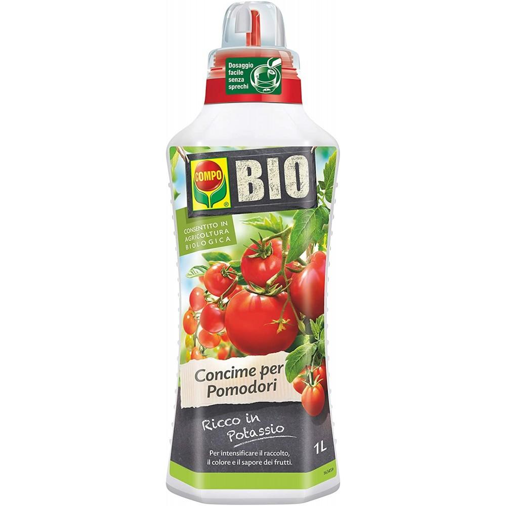 Compo Bio Concime Biologico Per Tutte Le varietà di Pomodori 1L